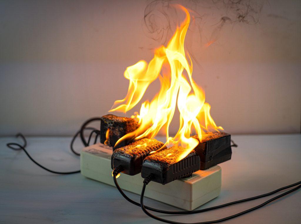 incêndios elétricos na edificação
